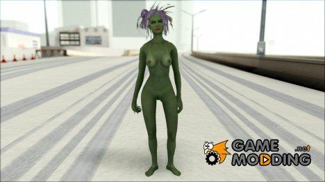 Skin Khorah Orc Nude для GTA San Andreas