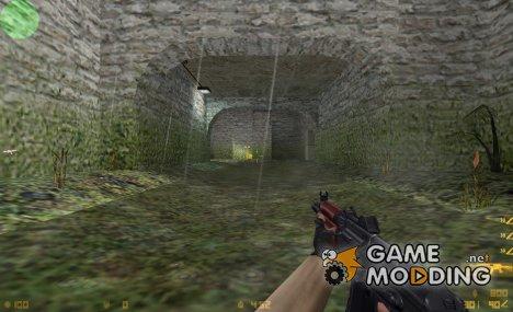 Lama AKS74U On Valve's Animation for Counter-Strike 1.6