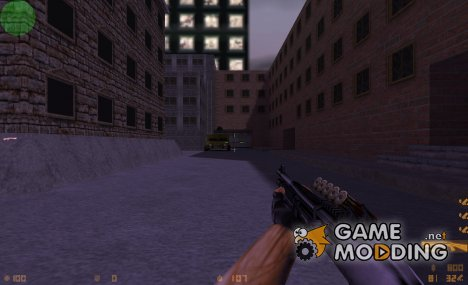 m3 with HD shells for Counter-Strike 1.6