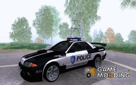 Nissan Skyline R32 Police for GTA San Andreas