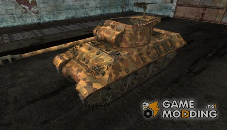 шкурка для M36 Slugger №15 for World of Tanks