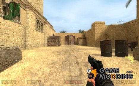 sleeker smoother dark usp for Counter-Strike Source