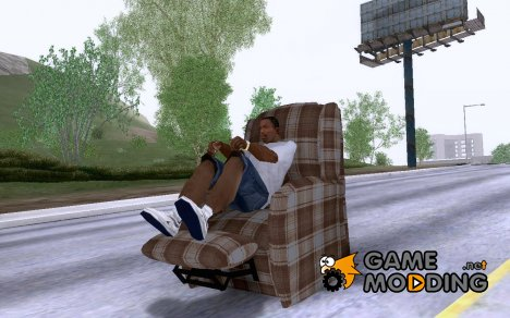 La Z Boy Recliner for GTA San Andreas