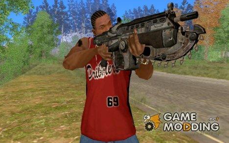M4 из игры Gears of War for GTA San Andreas