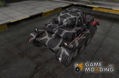 Шкурка для PzKpfw II Ausf G for World of Tanks