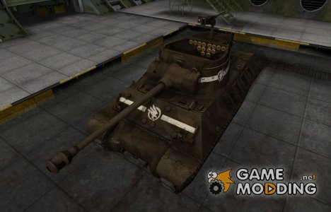 Скин в стиле C&C GDI для M36 Jackson для World of Tanks