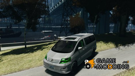 Toyota Alphard v2.0 for GTA 4