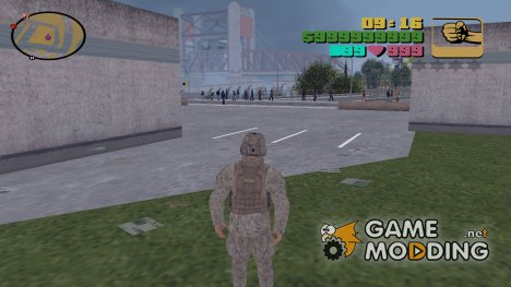 Hud Colors from VCS for GTA 3