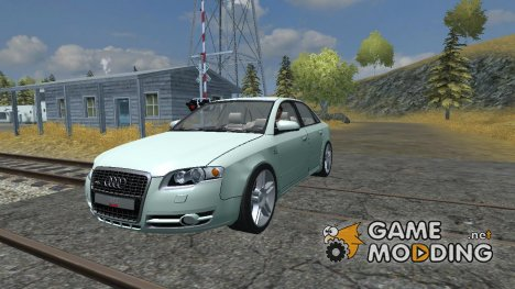 Audi A4 Quattro towbar v 1.1 для Farming Simulator 2013