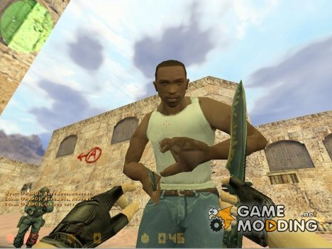 Carl Johnson для Counter-Strike 1.6