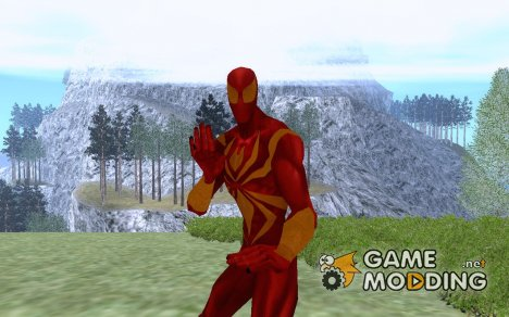 Spider man stark armor for GTA San Andreas