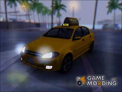 Chevrolet Lacetti Cab for GTA San Andreas
