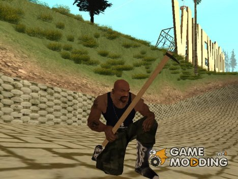 Мотыга for GTA San Andreas