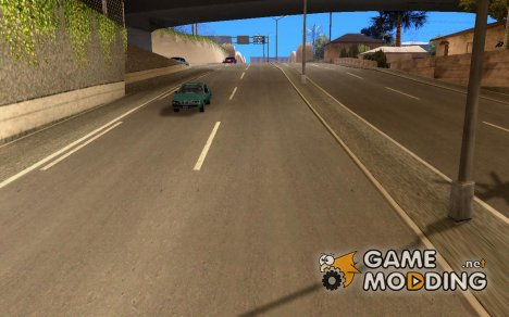 Roads Moscow for GTA San Andreas
