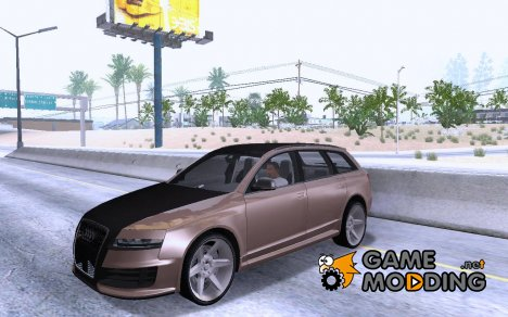 Audi RS6 Avant Tuning Edition for GTA San Andreas