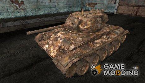 Шкурка для M24 Chaffee for World of Tanks