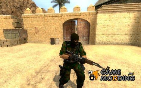 Jungle Camo Terrorist для Counter-Strike Source
