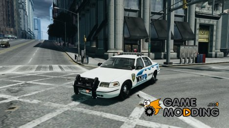 Ford Crown Victoria v2 NYPD для GTA 4
