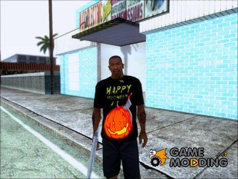 "Футболка ""Happy Halloween"" for GTA San Andreas"