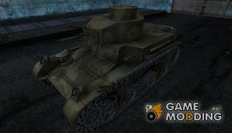 Шкурка для M2 lt для World of Tanks