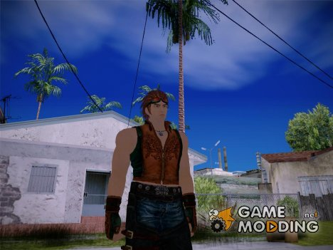 Hwoarang Tekken for GTA San Andreas