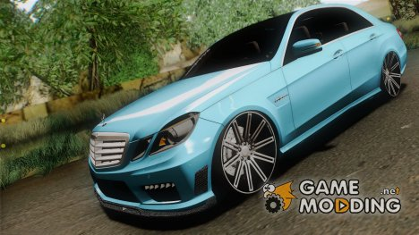 Mercedes-benz E63 AMG 2010 Vossen wheels для GTA San Andreas
