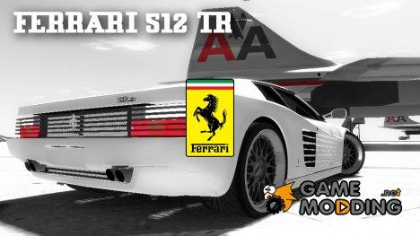 Ferrari 512 TR BBS for GTA 4