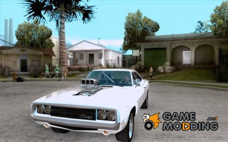 Dodge Charger RT 1970 The Fast and The Furious для GTA San Andreas