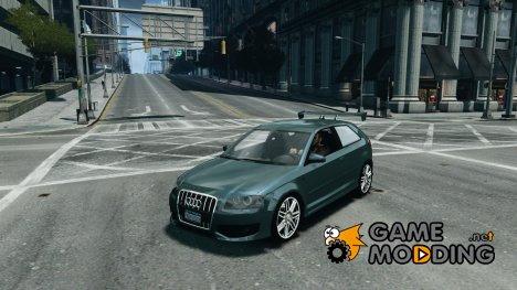 Audi S3 2006 v1.1 не тонированая for GTA 4