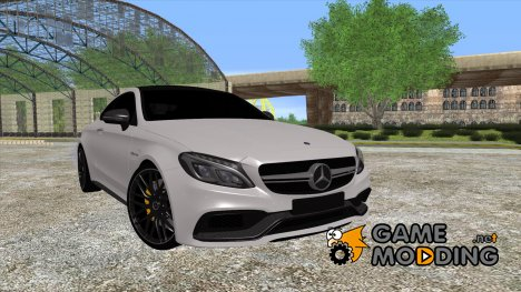 Mercedes-Benz C63S AMG Coupe 2016 for GTA San Andreas