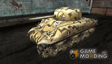 M4 Sherman от BoMJILuk для World of Tanks
