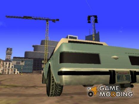 Заснеженные шины машин для GTA San Andreas