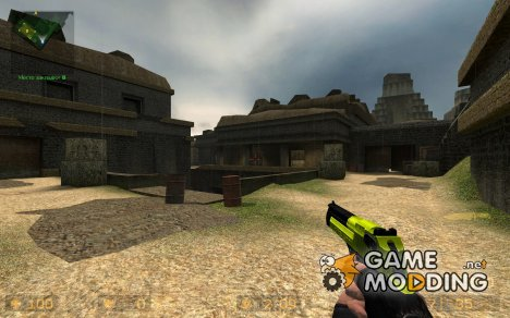 FPSB/Bumblebee Deagle (Black And Yellow Deagle) для Counter-Strike Source