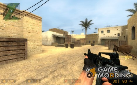 Cool Blue M4a1 для Counter-Strike Source