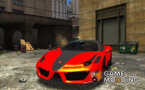 Ferrari 458 Novitec-Rosso for GTA 4