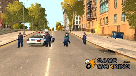 Много полицейских for GTA 4