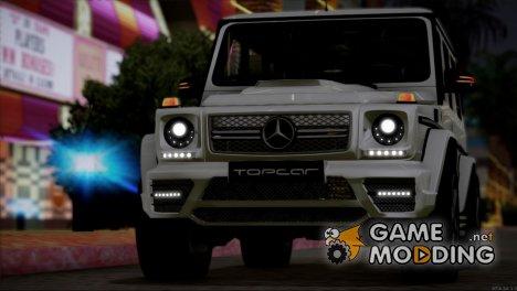Mercedes Benz G65 AMG 2015 Topcar Tuning для GTA San Andreas