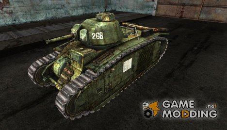 шкурка для PzKpfw B2 740(f) №4 for World of Tanks