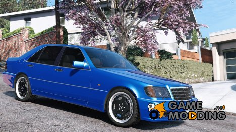 Mercedes-Benz W140 AMG 2.0 for GTA 5