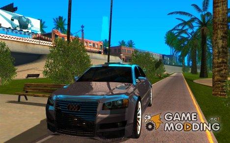 Audi A8 Tuned for GTA San Andreas