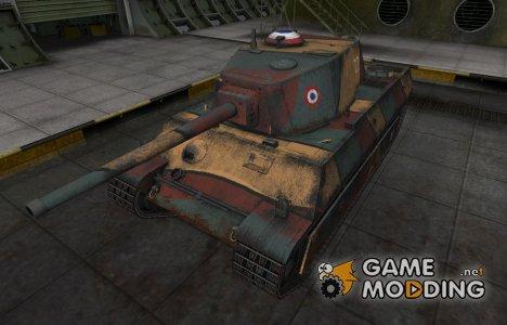 Исторический камуфляж AMX M4 mle. 45 for World of Tanks