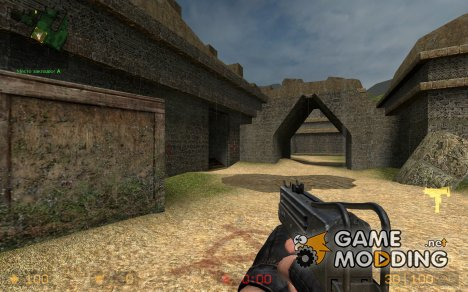 Millenias MAC 10 on dif anims. for Counter-Strike Source