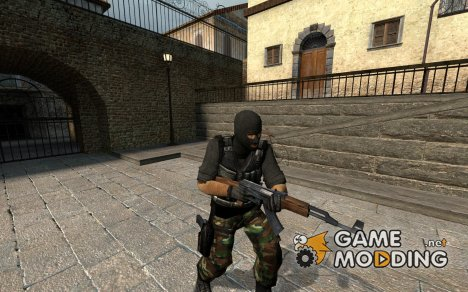 Elite Camo Terrorist V2 для Counter-Strike Source