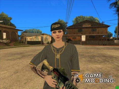 Female DLC Lowriders GTA Online for GTA San Andreas