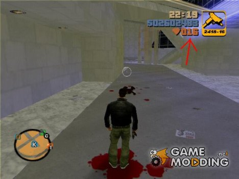 Blood mod for GTA 3