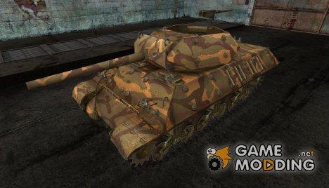 шкурка для M10 Wolverine №2 for World of Tanks