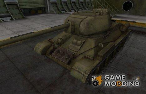 Шкурка для Т-34-85 в расскраске 4БО for World of Tanks