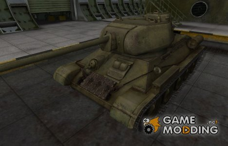 Шкурка для Т-34-85 в расскраске 4БО для World of Tanks