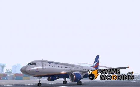 Airbus A320 АэроФлот Российские Авиалинии for GTA San Andreas