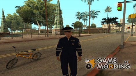 Старшина ДПС for GTA San Andreas